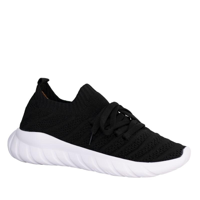 LORETTI Elastic textile Nero sport shoes