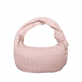LORETTI Medium weaved leather Grigio Bag