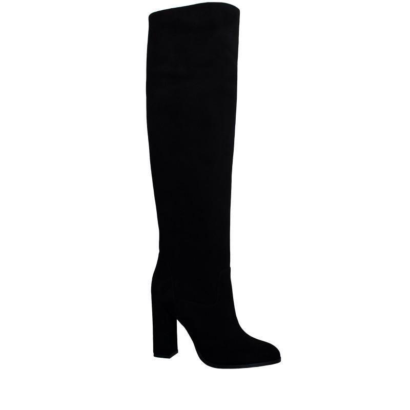 LORETTI High heel suede Carbone high boots