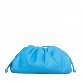 LORETTI Small leather Azzurro shoulder bag