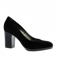 Platform medium heel pumps (1)
